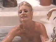 Blonde: amazing Shannon Tweed having wild sex with a guy